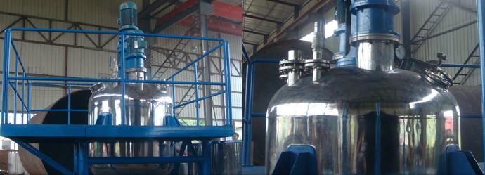 不锈钢分散罐-成都众蕊机械生产