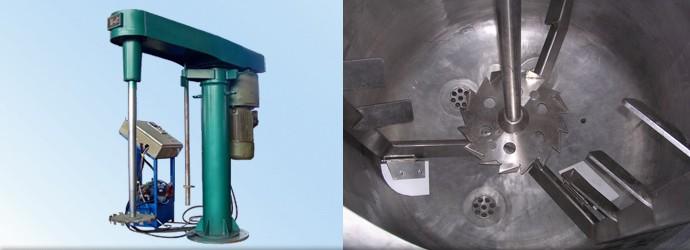 高速分散机可搭配多种搅拌器组合使用-成都众蕊机械生产