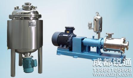 间歇式高剪切乳化机和连续生产式乳化机